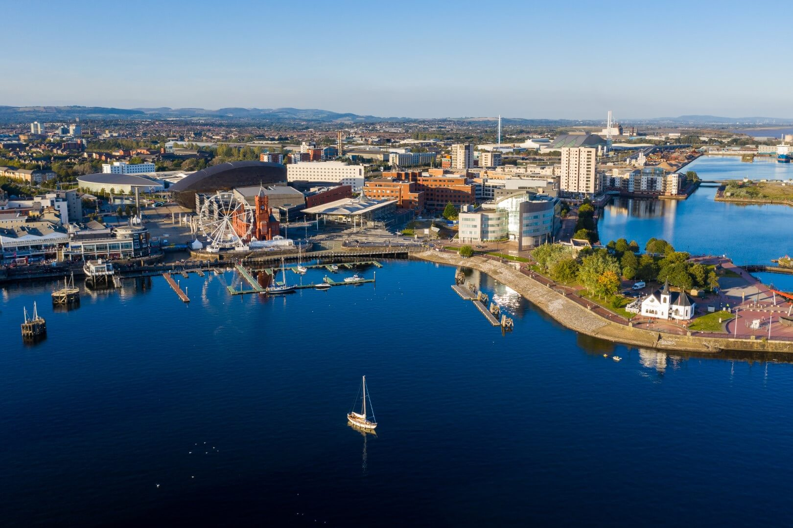 Cardiff waterfront D4Drivers driver medicals