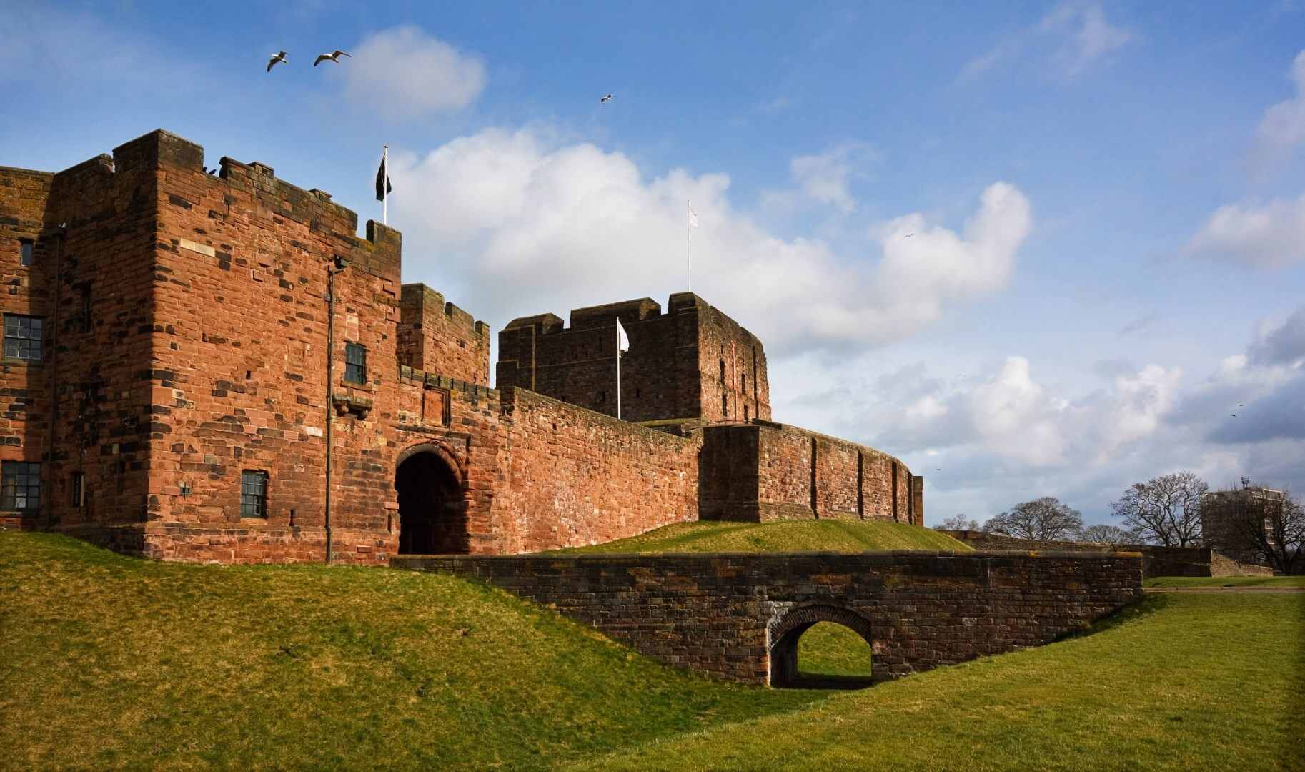 Carlisle castle ruins DVLA driver medicals