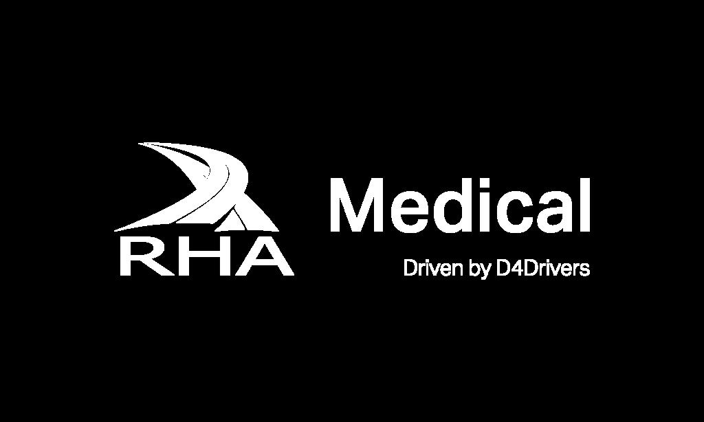 RHA Medical white logo
