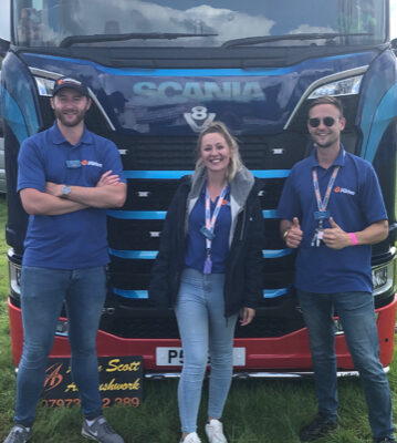 D4Drivers team at Truckfest South West
