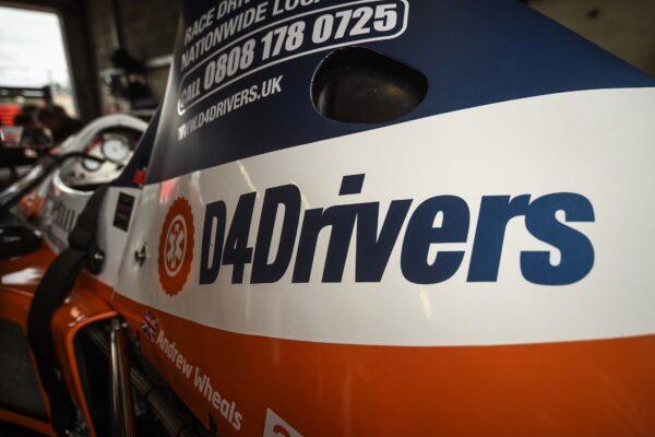 D4Drivers race team sponsorship