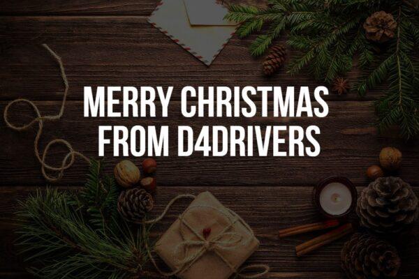 D4Drivers at Christmas 2020
